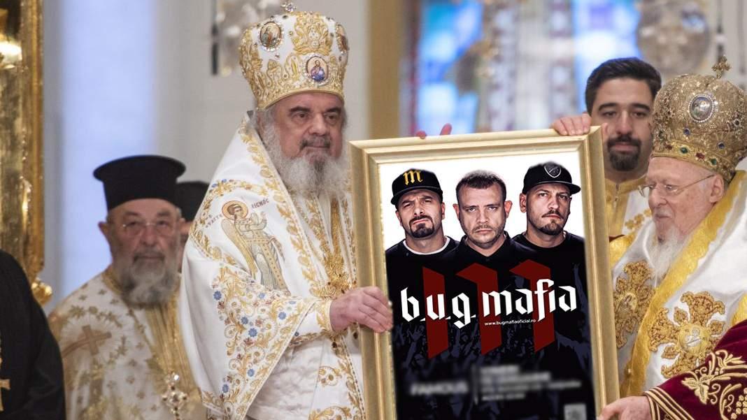 """Patriarhul Daniel, slujbă specială de Sf. Pantelimon: """"Cine e creştin strigă ooo!"""""""