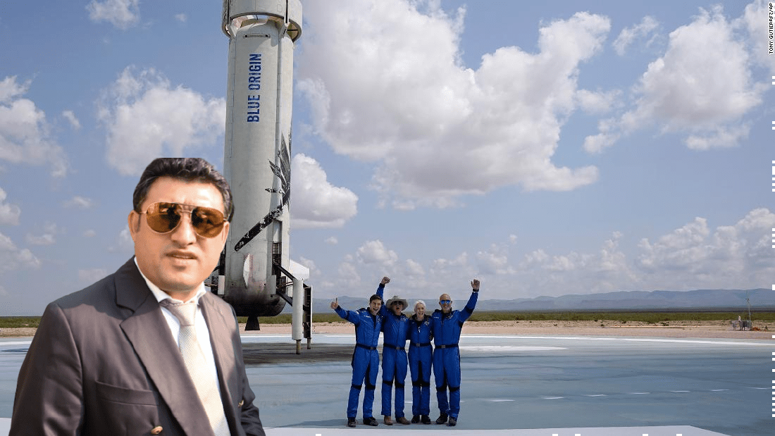 """Primarul din Strehaia l-a sunat pe Bezos să-l întrebe """"dacă e fer în spațiu"""""""
