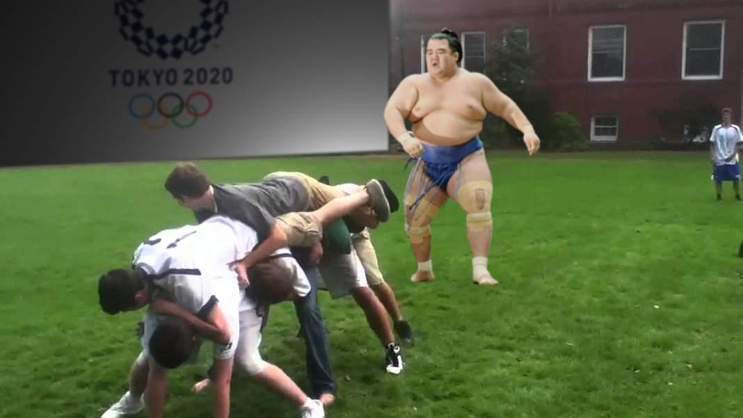 Echipa de lapte gros a României, strivită de echipa de sumo a Japoniei