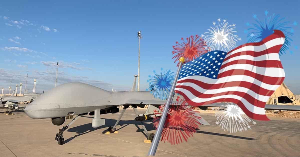 Ziua Americii, sărbătorită cu atacuri cu drone în numeroase zone de conflict
