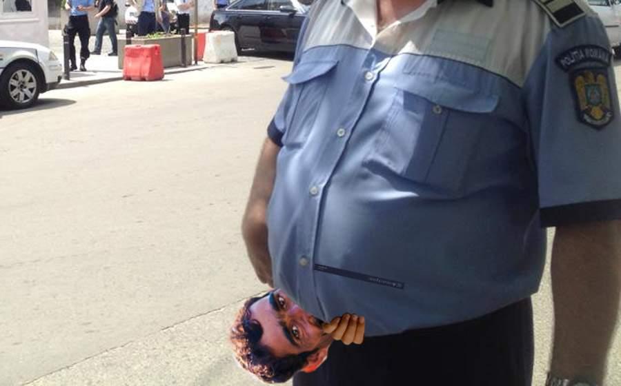 Evadatul din Urziceni a stat ascuns 2 zile sub burta poliţistului care îl căuta