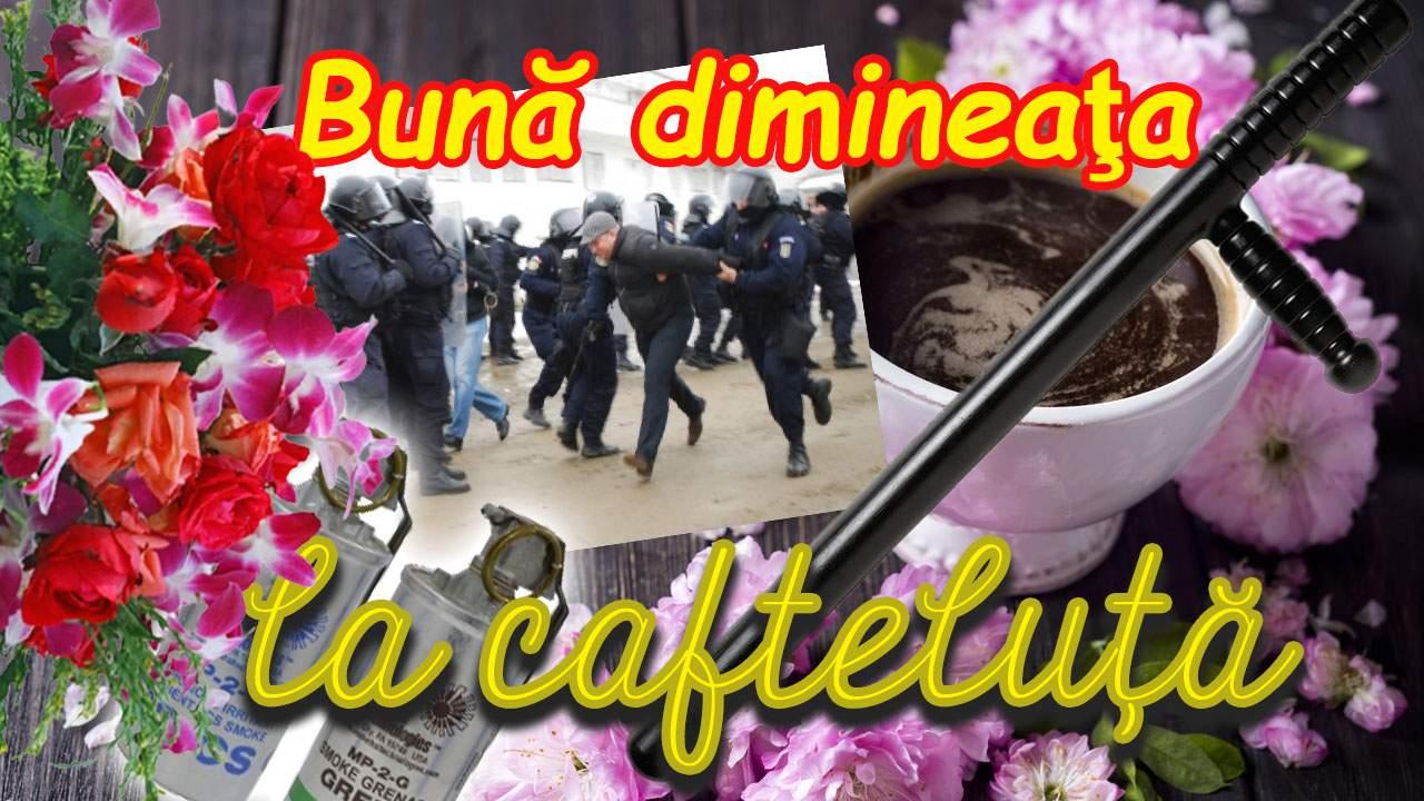 """Postare virală a Jandarmeriei de 10 august: """"Bună dimineața la cafteluță!"""""""