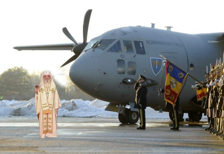 Un avion Hercules a recuperat cutia milei de la biserica românească din Kabul