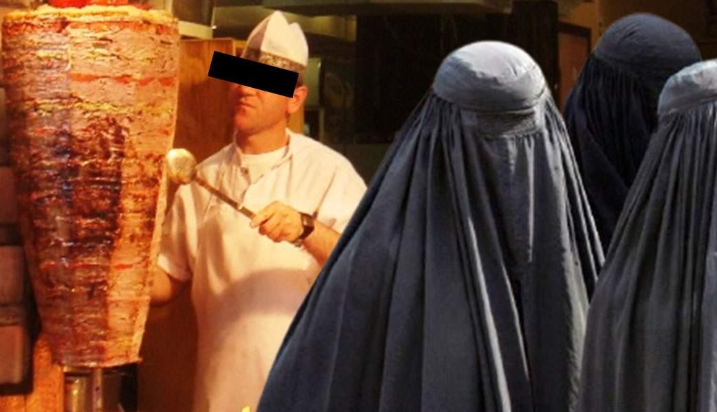 Victoria talibanilor, efecte la București. La Dristor ai voie doar cu burka