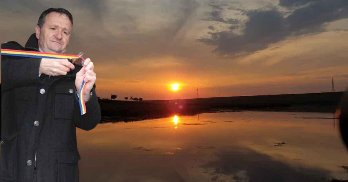 Primarul din Caracal inaugurează soarele zilnic, la 5 dimineaţa