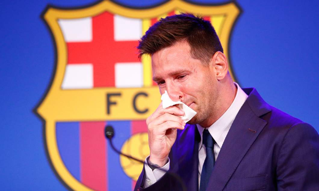 Messi, în lacrimi, că nu-n fiecare zi pierzi un contract de 70 de milioane pe an