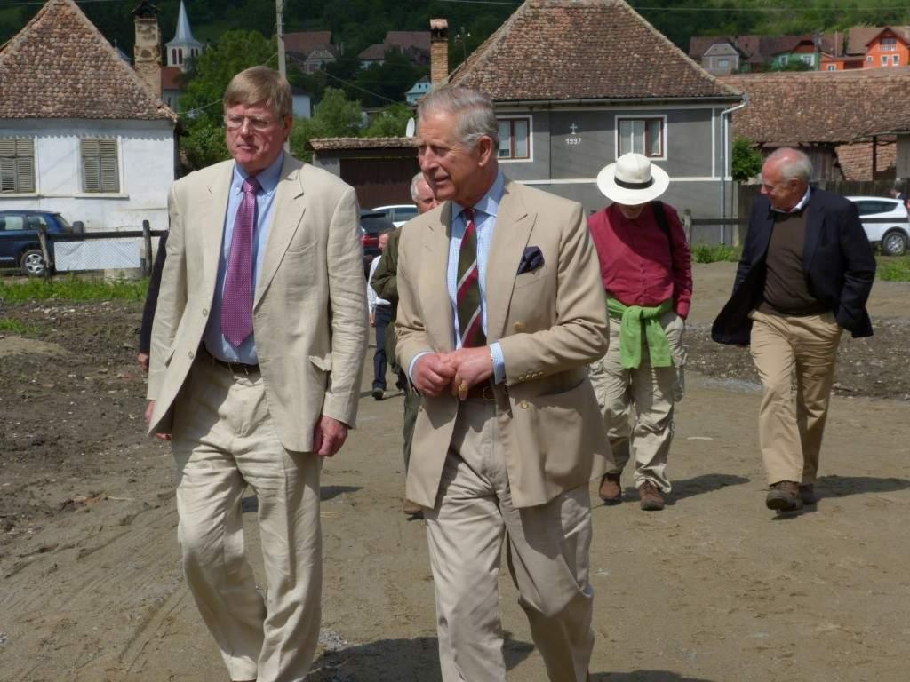 Prințul Charles vrea să mute meridianul zero de la Greenwich la Viscri