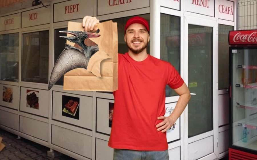 """Pterodactil expirat de 65 milioane de ani, vândut ca """"aripioare picante"""" în Mamaia"""