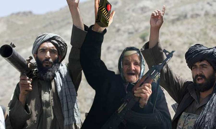 Talibanii, tot mai prietenoși. Au ajutat o bătrânică să detoneze o bombă