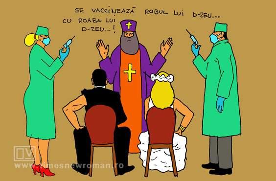 Nuntă cu vaccinare