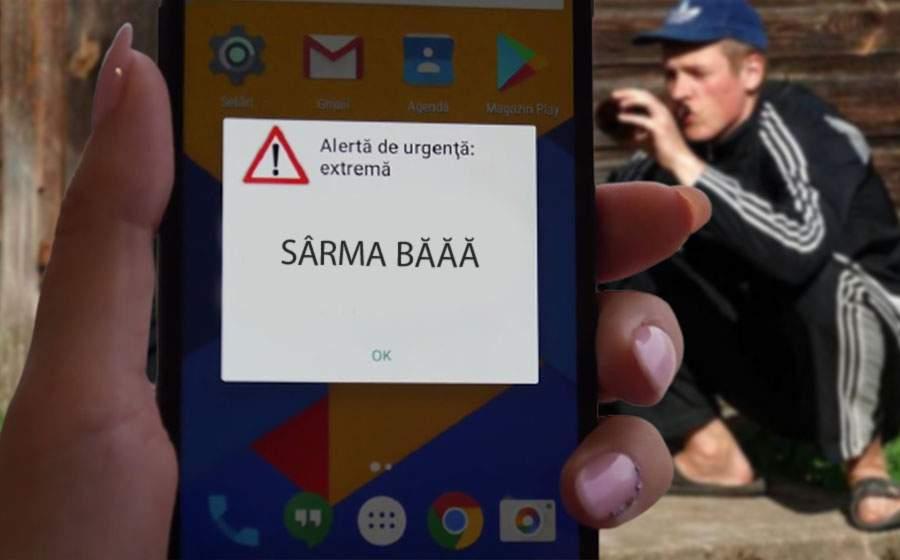 """Moldovenii din Braşov spun că au primit mesaje Ro-Alert cu """"Sârma băăă"""""""
