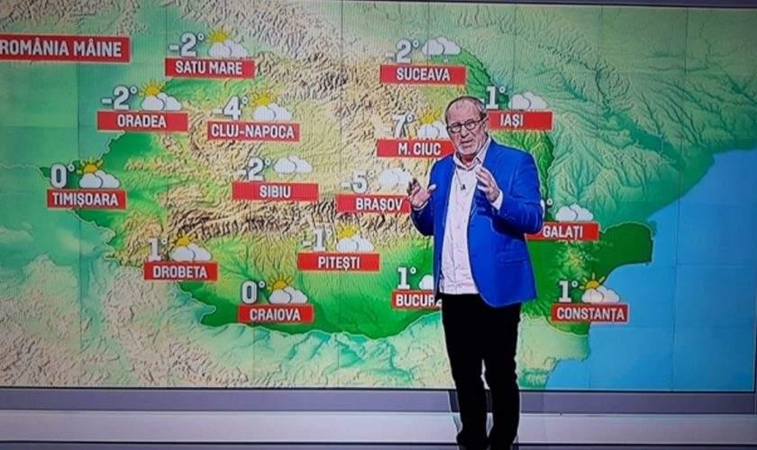 Singur Acasă, luat de Antene. Pro TV va difuza de Crăciun 2 ore de meteo cu Busu