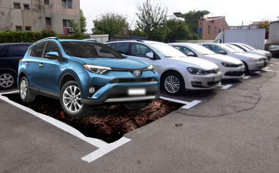 Alertă în Bucureşti! O bandă periculoasă fură locurile de parcare de sub maşini