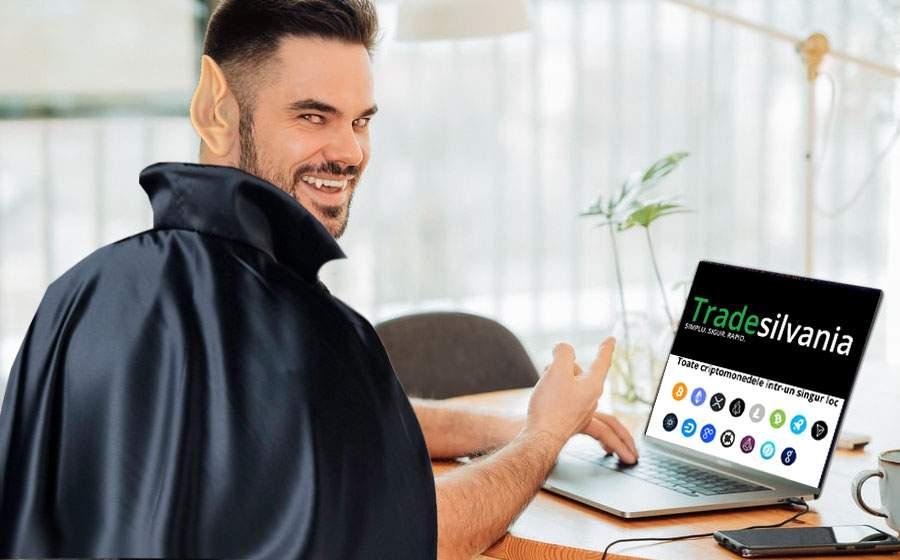 S-a lansat prima aplicație de făcut bani pentru vampiri, Tradesilvania.com