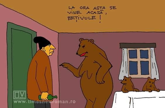 Un om atacat de ursoaică