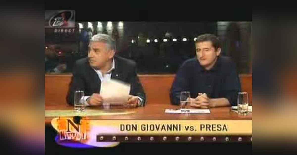 Giovanni Becali are Covid? A stat o oră lângă Cartianu și nu i-a spus că pute